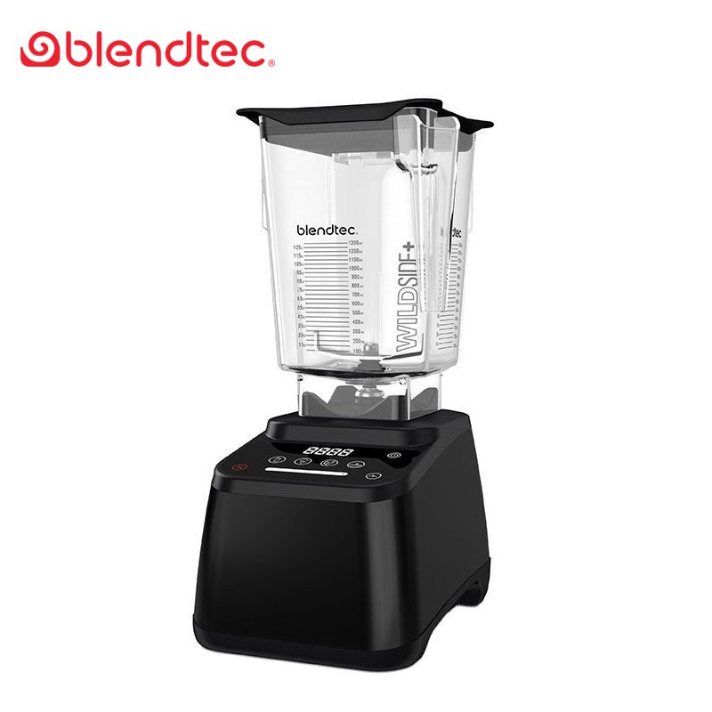 【Blendtec】美國高效能食物調理機設計師625系列-尊爵黑(公司貨)+贈專業食譜