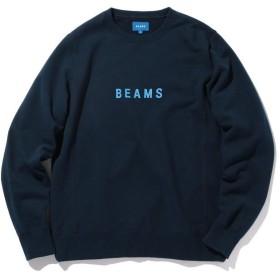ビームス メン BEAMS / ロゴ スウェット クルーネック メンズ NAVY XL 【BEAMS MEN】