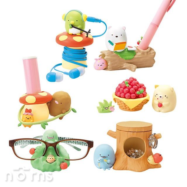 【Rement角落生物桌上小物 森林篇】Norns 日本盒玩公仔擺飾 角落小夥伴 辦公室療癒小物 筆架 文具收納