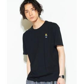 [マルイ]【セール】ベアワンポイント刺繍Tシャツ/ウィゴー(メンズ)(WEGO)