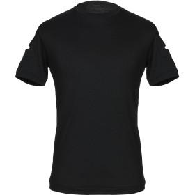 《期間限定 セール開催中》YOON メンズ T シャツ ブラック 48 コットン 100%