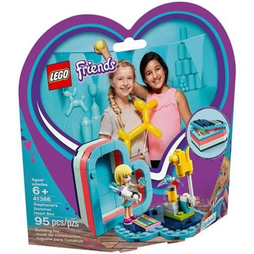 LEGO樂高積木 - Friends 姊妹淘系列 41386 斯蒂芬妮的夏日心型盒