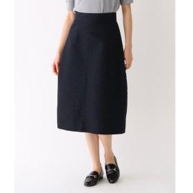 DRESSTERIOR / ドレステリア モノグラムジャガード トラペーズスカート