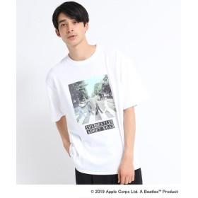 tk.TAKEO KIKUCHI / ティーケー タケオキクチ BEATLES × tk.TAKEO KIKUCHI 「ABBEY ROAD」Tシャツ