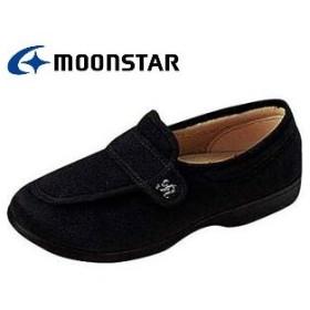 らくらくL001 3E ブラック 介護 リハビリ ムーンスター MOONSTAR|L001-black
