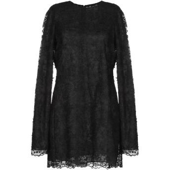 《セール開催中》SAINT LAURENT レディース ミニワンピース&ドレス ブラック 38 ナイロン 100%