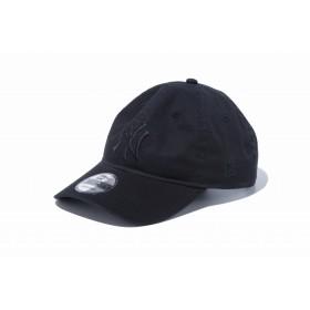 【ニューエラ公式】 9TWENTY クロスストラップ MLBカスタム ニューヨーク・ヤンキース ブラック × ブラック メンズ レディース 56.8 - 60.6cm MLB キャップ 帽子 12121375 NEW ERA