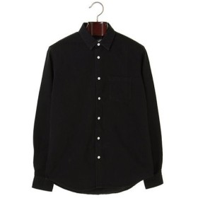 【Steven Alan】LONG SLEEVE JAS/WASHED BLACK メンズウェア シャツ - 選択してください - WASHED BLACK M L au WALLET Market
