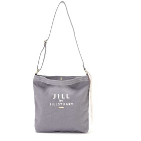 【公式/JILL by JILLSTUART】JJショルダートートバッグ(無地)/女性/キャンバスバッグ/スティールグレー/サイズ:FR/