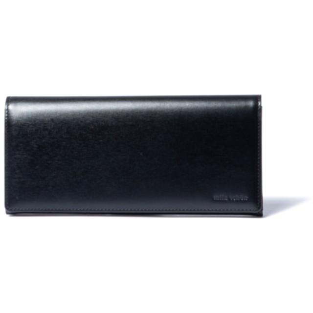 mila schon SHADOW EMBOSS かぶせ型長財布