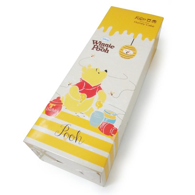 迪士尼獨家授權蜂蜜蛋糕 使用大武山牧場安全、健康的雞蛋製造 給您健康又美味的蜂蜜蛋糕 保存方式:常溫 賞味期限:10-12天(包含製作配送日) 保存期限:有效日期標示於包裝袋上 食用條件:本產品未添加