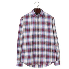 【Steven Alan】LONG SLEEVE JAS/BLUE RED PLAID メンズウェア シャツ - 選択してください - BLUE RED PLAID M au WALLET Market