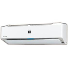 シャープ8畳向け 自動お掃除付き 冷暖房インバーターエアコンKuaL プラズマクラスターエアコンホワイトAYH25EE6S