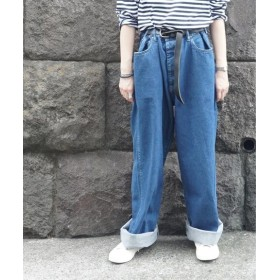 journal standard luxe 【chimala/チマラ】 WIDE BIG DENIM◆ ブルー A 36