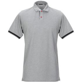 《期間限定セール開催中!》KITON メンズ ポロシャツ グレー L コットン 100%
