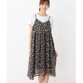 SHOO・LA・RUE / シューラルー 【2点セット】キャミワンピース+Tシャツ