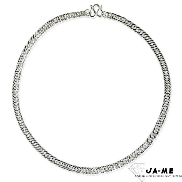 【JA-ME】990千足銀男士項鍊(3.5mm細版)