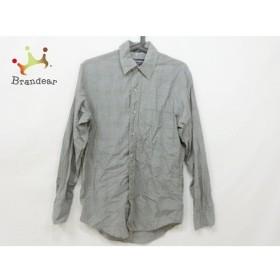 バーバリーズ Burberry's 長袖シャツ サイズS メンズ 美品 グレー チェック柄 新着 20190710