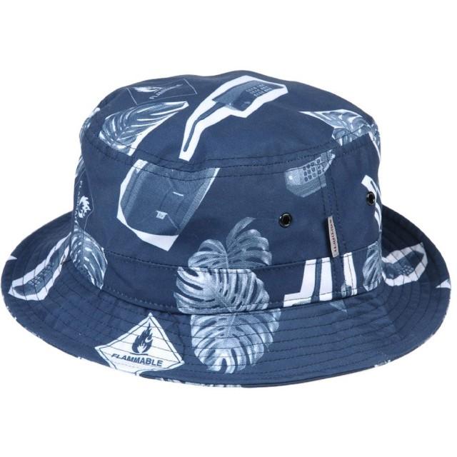 《期間限定 セール開催中》CARHARTT メンズ 帽子 ダークブルー S/M ポリエステル 100%