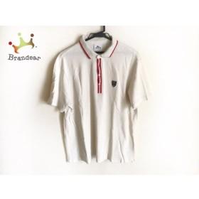 ラコステ Lacoste 半袖ポロシャツ サイズ5 XL メンズ ベージュ×レッド 新着 20190710