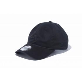 【ニューエラ公式】 9TWENTY クロスストラップ MLBカスタム ロサンゼルス・ドジャース ブラック × ブラック メンズ レディース 56.8 - 60.6cm MLB キャップ 帽子 12119375 NEW ERA