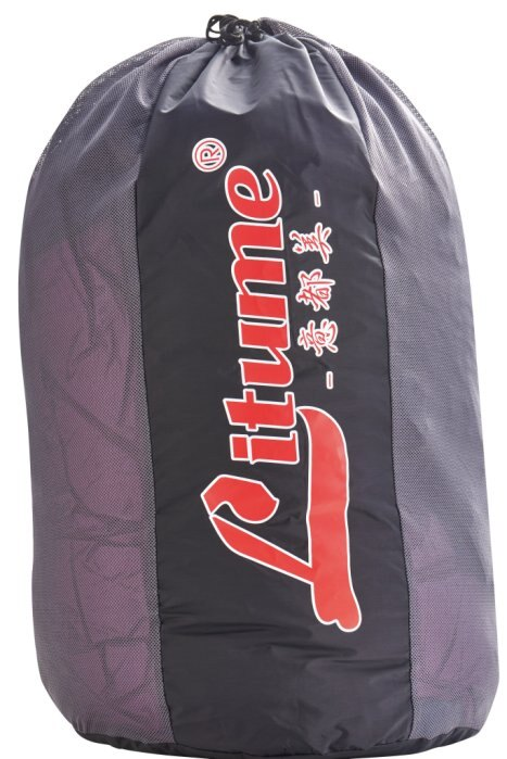 【H.Y SPORT】意都美 Litume E627 睡袋儲存袋 黑/深藍灰