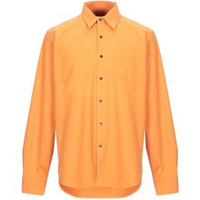 《期間限定セール開催中!》DRIES VAN NOTEN メンズ シャツ オレンジ 52 コットン 100%