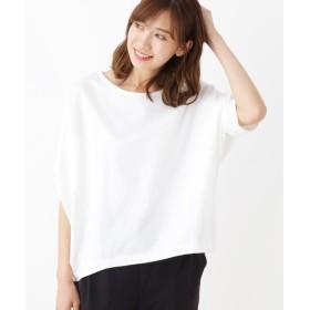 SHOO・LA・RUE/DRESKIP(シューラルー/ドレスキップ) ジャージ変形袖ビックTシャツ