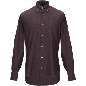 《期間限定 セール開催中》DANOLIS メンズ シャツ ボルドー 39 コットン 100%