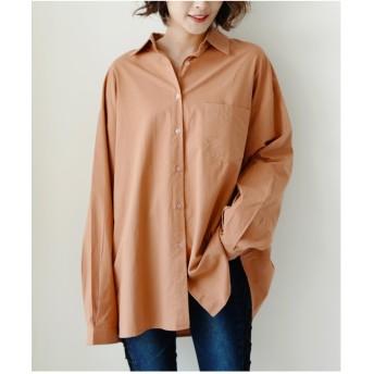 フューティアランド Futier Land ワイドBIGシャツ (オレンジ)