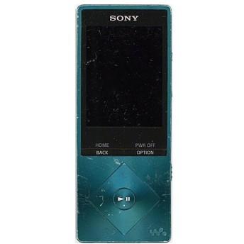 【中古】SONYウォークマン Aシリーズ NW-A25 ブルー/16GB 本体・液晶画面いたみ