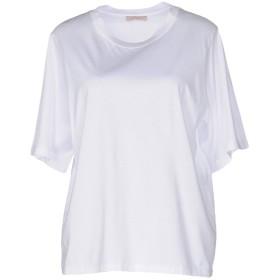 《期間限定セール開催中!》ERIKA CAVALLINI レディース T シャツ ホワイト XL コットン 100%