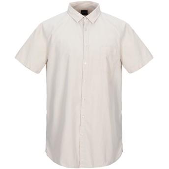 《9/20まで! 限定セール開催中》BOSS HUGO BOSS メンズ シャツ ベージュ S コットン 100%