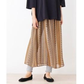 SHOO・LA・RUE / シューラルー レギンス付柄スカート