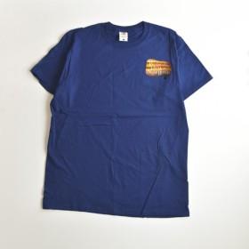 Tシャツ【ネイビー】 滴るWED. HYM プリント