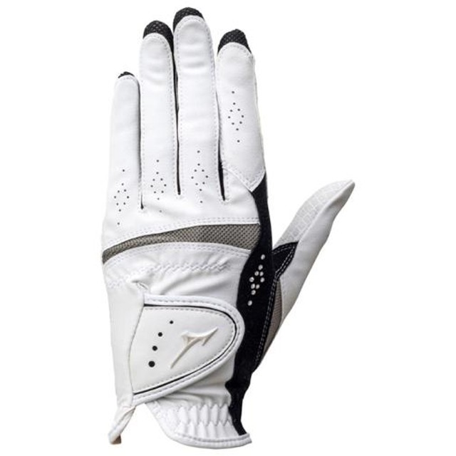 MIZUNO SHOP [ミズノ公式オンラインショップ] 手袋/ダブルグリップ/両手(ゴルフ)[レディース] 09 ホワイト×ブラック 5MJWB651