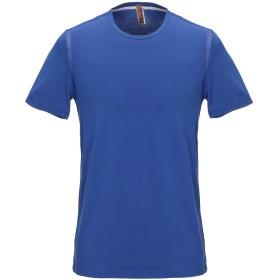 《期間限定セール開催中!》JOHN GALLIANO メンズ T シャツ ブルー 46 コットン 93% / ポリウレタン 6% / ナイロン 1%