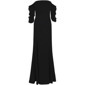 《期間限定セール開催中!》C/MEO COLLECTIVE レディース ロングワンピース&ドレス ブラック S レーヨン 85% / ナイロン 15% Lift Me Gown