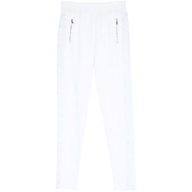 《期間限定 セール開催中》GUESS レディース パンツ ホワイト XS コットン 100%