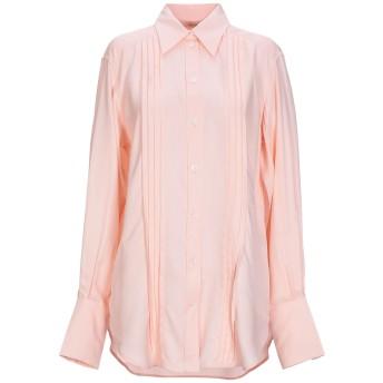 《セール開催中》CELINE レディース シャツ ピンク 40 レーヨン 100%