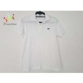 ラコステ Lacoste 半袖ポロシャツ サイズ2 M レディース 白  値下げ 20190914