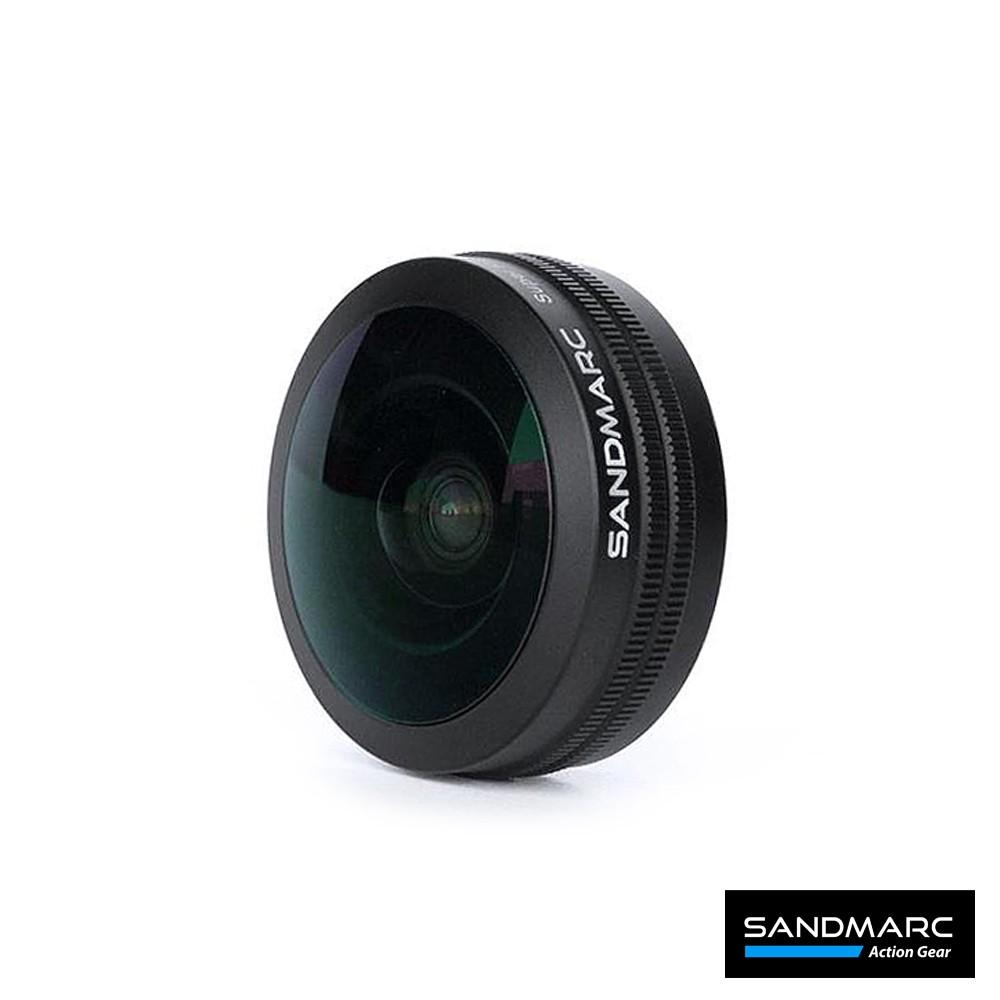 SANDMARC 0.2X 魚眼 HD 手機鏡頭 (iPhone X/XS 共用背蓋 與 安卓共用鏡頭夾具)