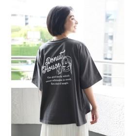クラシカルエルフ Classical Elf Tシャツレディース半袖大きいサイズプリントTシャツバックプリントプリントTビンテージ風アメリカンダイナービッグTカットソー大人くすみカラー小さいサイズ夏
