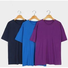 Tシャツ - NOWiSTYLE MICHYEORA(ミチョラ)ビッグサイズボックスTシャツ韓国 韓国ファッション Tシャツ ビッグサイズ 無地 ベーシック カジュアルボックスTシャツ