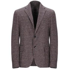 《期間限定セール開催中!》LARDINI メンズ テーラードジャケット ココア 50 コットン 75% / ウール 25%