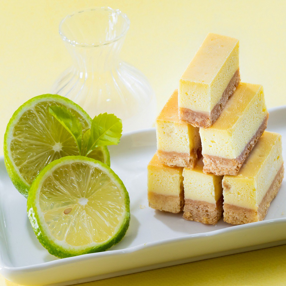 百佳(龍泰)烘焙坊-檸檬起士條48入/盒