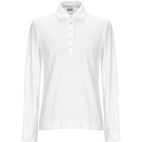 《期間限定 セール開催中》MASSIMO ALBA メンズ ポロシャツ ホワイト L コットン 85% / カシミヤ 15%