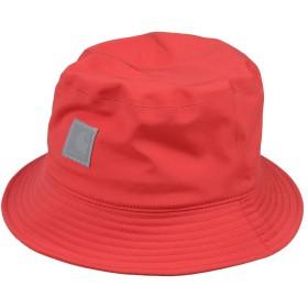 《期間限定 セール開催中》CARHARTT メンズ 帽子 レッド S/M ポリエステル 97% / ポリウレタン 3%
