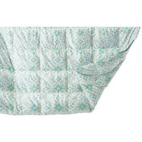 ダウンケット - セシール ■カラー:グリーン ピンク ■サイズ:シングル(150×210cm)/羽毛量0.25kg