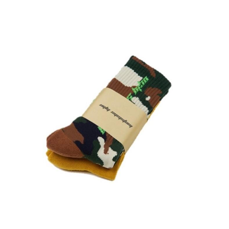 Ugly Vintage Socks Combo襪組 迷彩 / 芥末
